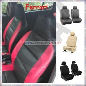 Seat Cover / Sarung Jok Mobil Bahan Ferrari HRV