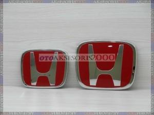 Emblem Logo Honda Merah EXCLUSIVE Khusus Mobil Honda HRV