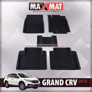 Karpet Lantai Mobil Karet 3D Khusus Honda Grand CRV