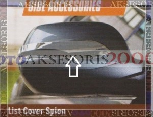 List / Lis Cover Spion Grand All New CRV
