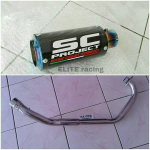 knalpot s c pro ject for vixion dll