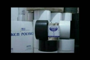 "Poliken Wrapping Tape 4""inci x 100 Fit"