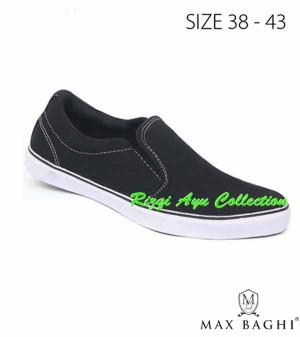 Sepatu Sneakers Pria Bahan SP Max Baghi 2475 Rizqi Ayu