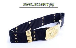 Kopel - Sabuk - Gesper - Ikat Pinggang - SATPAM Security