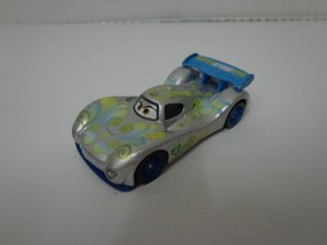 Disney Pixar Cars Carla Veloso With Metallic Finish