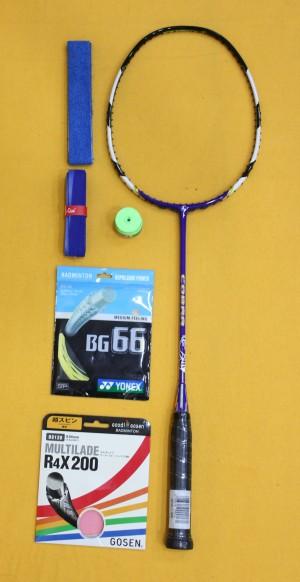 Raket Badminton Pro Kennex Cobra Purple