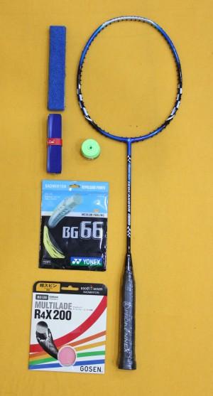 Raket Badminton Pro Kenex Iso Carbon 650