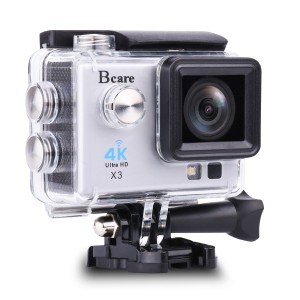 Bcare BCam X-3 Action Camera 16 MP SonySensor 4K - layar 2'- Silver