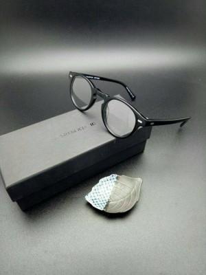 kacamata frame OLIVER PEOPLE gregory pack ( hitam gloss Berkualitas