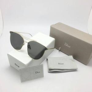 kacamata wanita Dior D - 8023 ( gold hitam ) Diskon