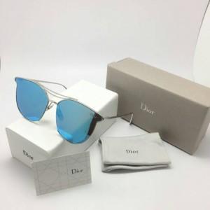 kacamata wanita Dior D - 8023 ( silver biru ) Limited