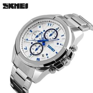 skmei 9109 silver original