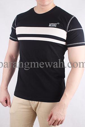 SPECIAL T-shirt / Kaos Mont Blanc Premium Grade (code T MB 4) TERMURAH