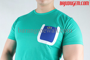 EXCLUSIVE T-shirt Lacoste L!VE Import (code TLACOS 101) TERMURAH