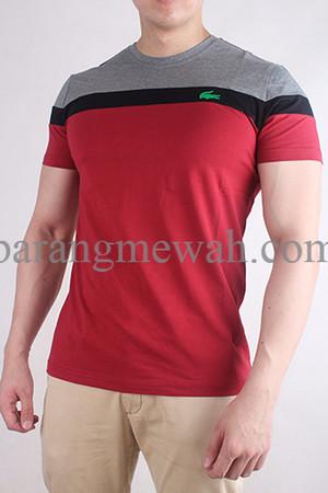 PROMO T-shirt / Kaos Lacoste Premium Grade Import (code TLACOS 151) TE