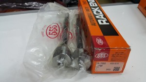 Rack end/long tierod avanza new/veloz merk 555 japan