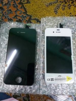 Jual + pasang Lcd Iphone 4S, fullset bisa ditunggu