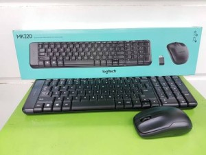 LOGITECH MK 220 MOUSE & KEYBOARD WIRELESS