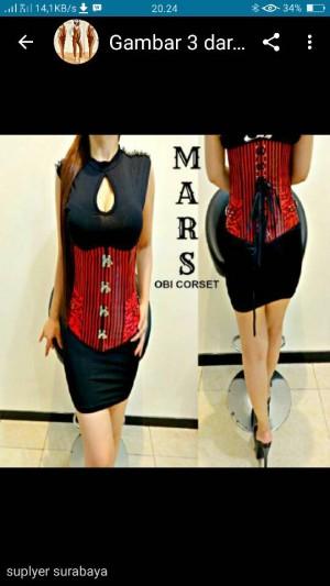 mars obi corset
