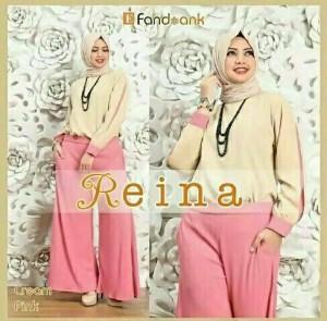 Hijab Reina Navy n Pink