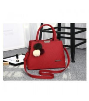 80715 WINE RED Tas Impor Hand Bag Import