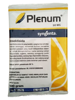 Obat Pertanian Pembunuh Serangga Insektisida Plenum 50 WG [100gr]