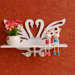 Swan Decorative Rack/ Rak Dinding Angsa