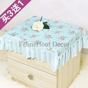 Tosca Floral Garden Table Cloth 90*90 - Taplak Meja