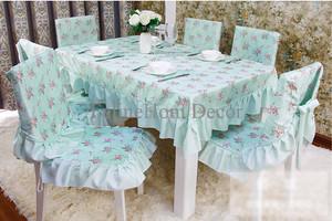 Tosca Floral Garden Table Cloth 110*110 - Taplak Meja