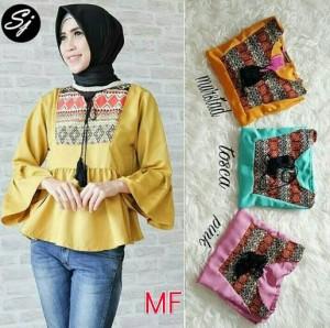 atasan wanita / baju muslim /busana muslim / blouse