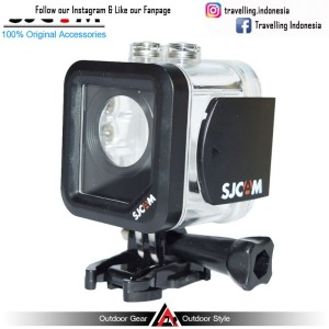 Underwater Waterproof Case 30M for Sports Camera - Transparent