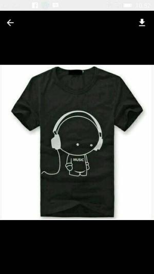 Tshirt/Baju/Kaos Music