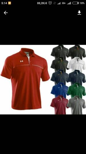 Polo shirt/Tshirt/Kaos kerah Under Armour