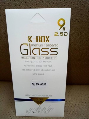 ANTI GORES KACA / TEMPERED GLASS K-BOX SONY X PERIA M4 AQUA