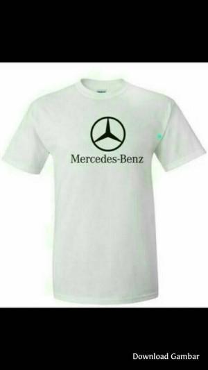 Kaos Polo tshirt BIG SIZE XXXL-XXXXL MERCEDES BENZ WHITE