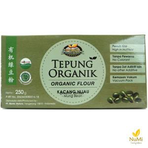 Bionic Farm Organic Mung Bean Flour | Tepung Kacang Hijau Organik 250g