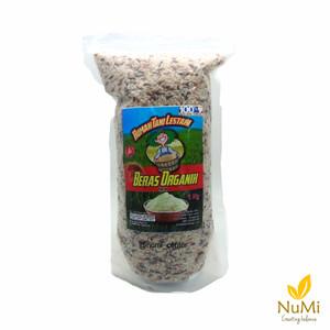 Organic Mixed Rice   Beras Organik Campur Tiga Warna 1 kg - RTL