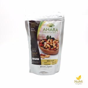 AHARA Mixed Roasted Nuts with Raisin | Kacang Panggang Kismis 245 g