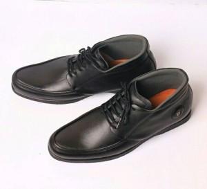 Sepatu kulit asli GALIA BLACK