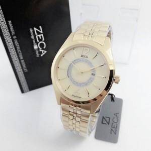 Jam Tangan Zeca 1002 Gold Original