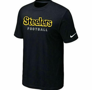 T shirt kaos Cotton Combed 30s Big Size(xxxl)NIKE STEELERS