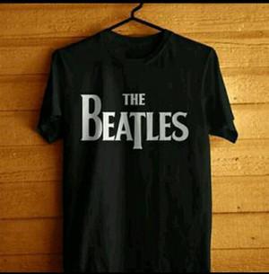 T shirt kaos Cotton Combed 30s Big Size(xxxl)THE BEATLES