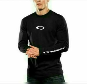 T shirt kaos cotton combed Longsleeve OAKLEY