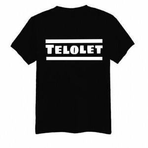 T shirt kaos cotton combed 30s TELOLET distro terbaru