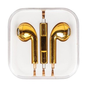 Handsfree Iphone 5 Gold