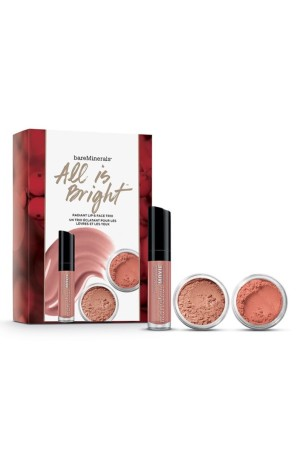BAREMINERALS - All is Bright Radiant Lip & Face Trio