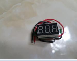 Mini 0.28' DC Digital Voltmeter Panel Mount LED Voltage Volt Meter R