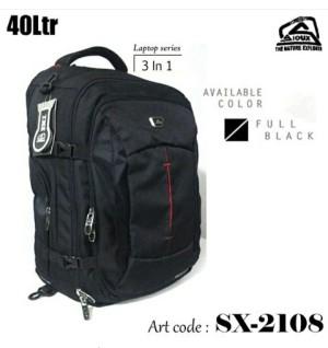 Tas Ransel Daypack Officepack Laptop Sioux 2108 Ltp Double Functions S
