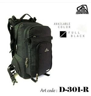 Daypack Officepack Bodypack Tas Sioux 301 R BLack Original Not Eiger S