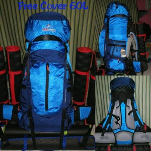 Carrier Tas Seven Summits Kalantara Blue 60 Liter Up Free Coverbag